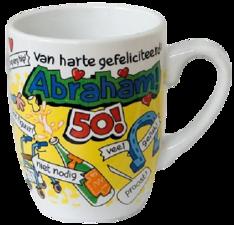 Mok Van harte gefeliciteerd Abraham 50!