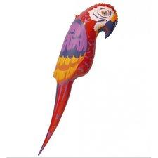 Opblaasbare papegaai 65cm