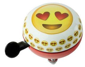 Fietsbel emoticon emoji hartjes ogen