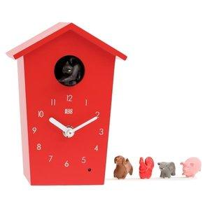 kookoo klok animal house rood