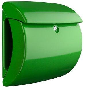 Brievenbus Burgwachter hoogglans piano groen