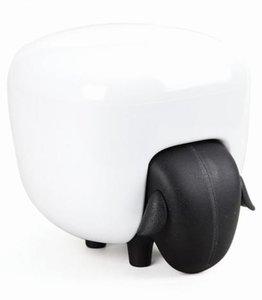 Qualy watten box schaap zwart/wit