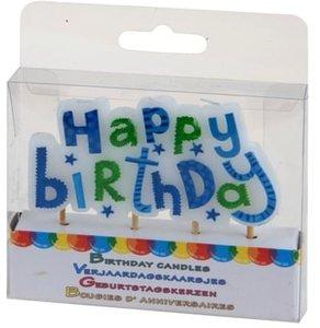 Verjaardagskaarsjes Happy Birthday boys