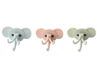 wandhaakjes olifant