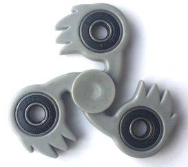 fidget spinner fireball grijs