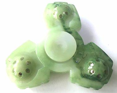 fidget spinner marmer groen