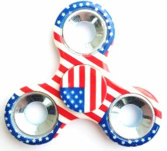fidget spinner amerikaanse vlag