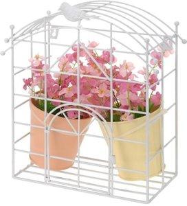 Muurhanger decoratief met bloempotjes