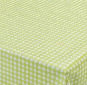 Tafelzeil ruitje groen Paty