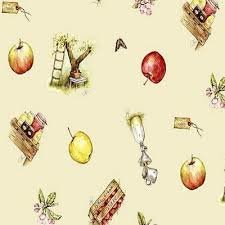Ovaal tafelzeil Jet ter Steege appels