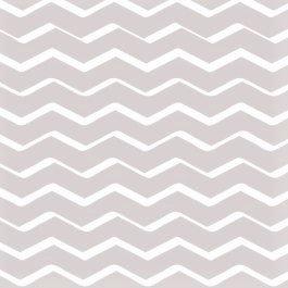Rond tafelzeil zigzag beige (140cm)