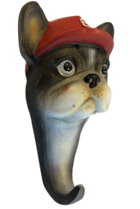 wandhaak hond franse bulldog