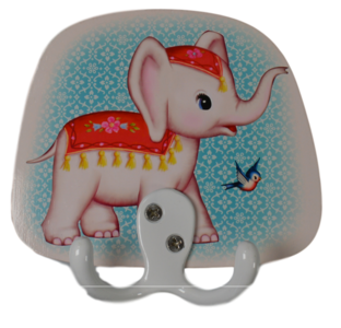 Kitsch Kitchen kinderkapstok olifant