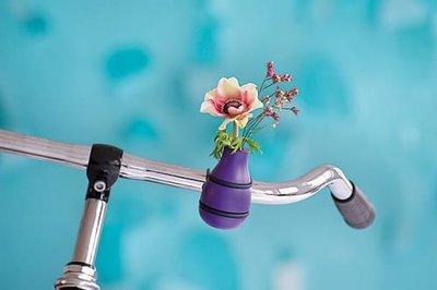 stuurvaasje fiets vaas bloemen