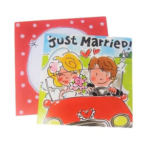 Blond Amsterdam kaart Just married