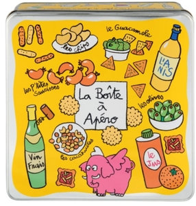 Derriere La Porte blik voor aperitief hapjes