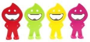 Flesopener Silly geel