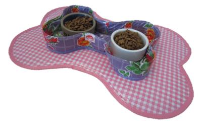 Voerbakhouder Kitsch Kitchen rosendal lila