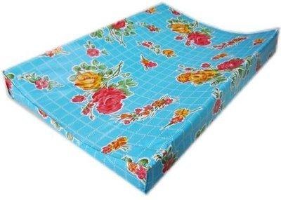 Kitsch Kitchen aankleedkussen rosendal blauw