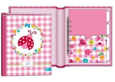 Lief babyboek roze