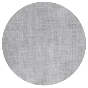 Rond tafelzeil tweed betonlook (140cm)