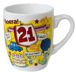 Mok Hoera 21 jaar (m/v)