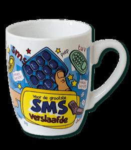Mok Voor de grootste SMS verslaafde