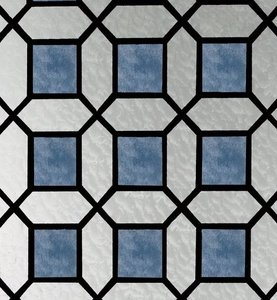 raamfolie glas in lood