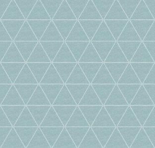 tafelzeil wasbaar triangle mintgroen