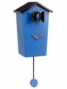 koekoeksklok blauw met geluid modern kookoo
