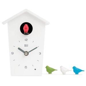 kookoo klok birdhouse mini wit