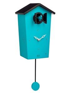 koekoeksklok modern blauw kookoo