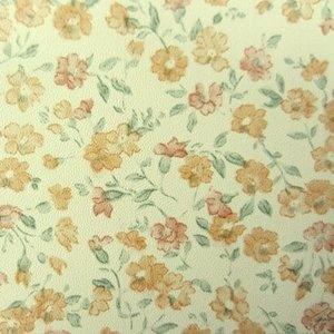 plakfolie bloemetjes behang vintage