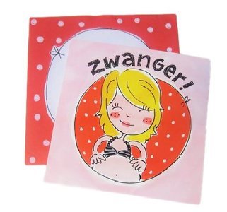Blond Amsterdam kaart Zwanger! 2