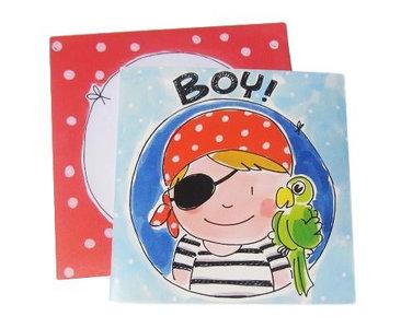 Blond Amsterdam kaart Boy