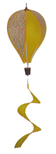 Windmolen ballon geel