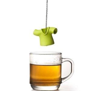 Qualy tea shirt (thee ei) groen