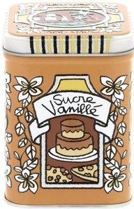 Derriere la Porte blikje voor vanillesuiker