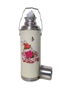 chinese thermoskan vlinder en roze