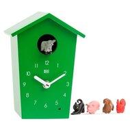 kookoo klok animal house groen